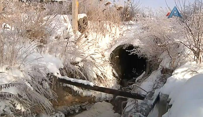 Сюжет о воде, студии  Акцент-Медиа  на 34 телеканале, 20.02.2011
